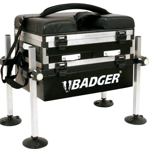 BADGER 3 DRAWER FISHING SEAT BOX | FISHERMANS PARADISE FISHING